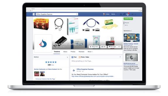 Facebook Office Supplies Express