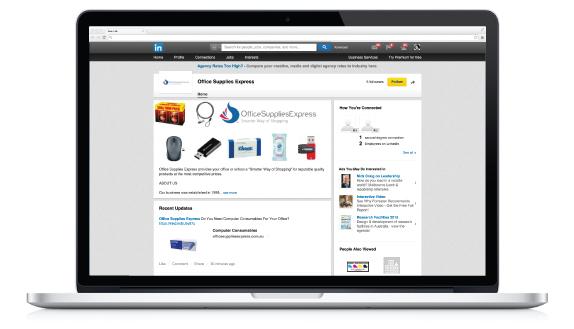 Linkedin Office Supplies Express