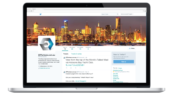 Twitter Empowered Financial Partners