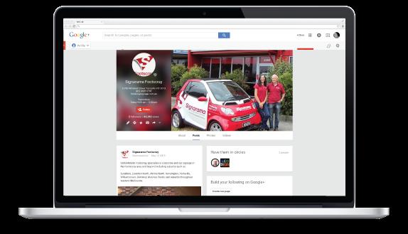 Google Plus Signarama Footscray