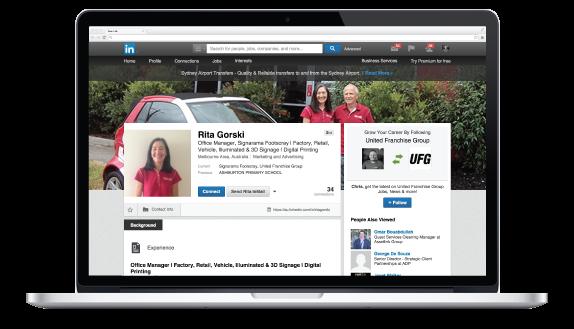 Linkedin Signarama Footscray